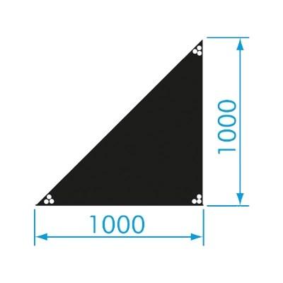 háromszög színpad bérlés