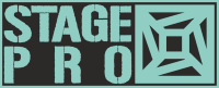 StagePro rendezvénytechnika Logo
